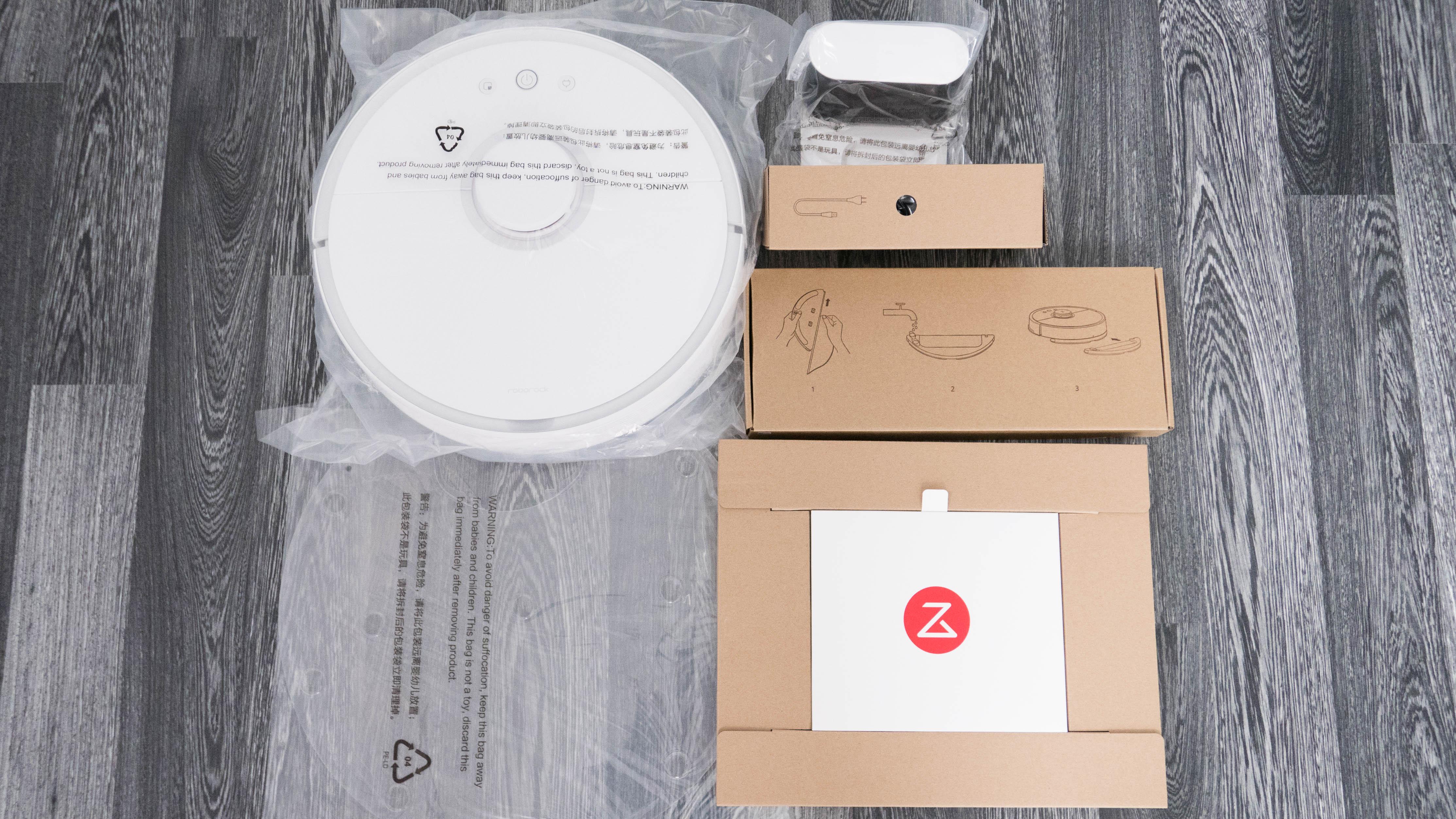 Xiaomi Mi Robot 2 Auspacken 7