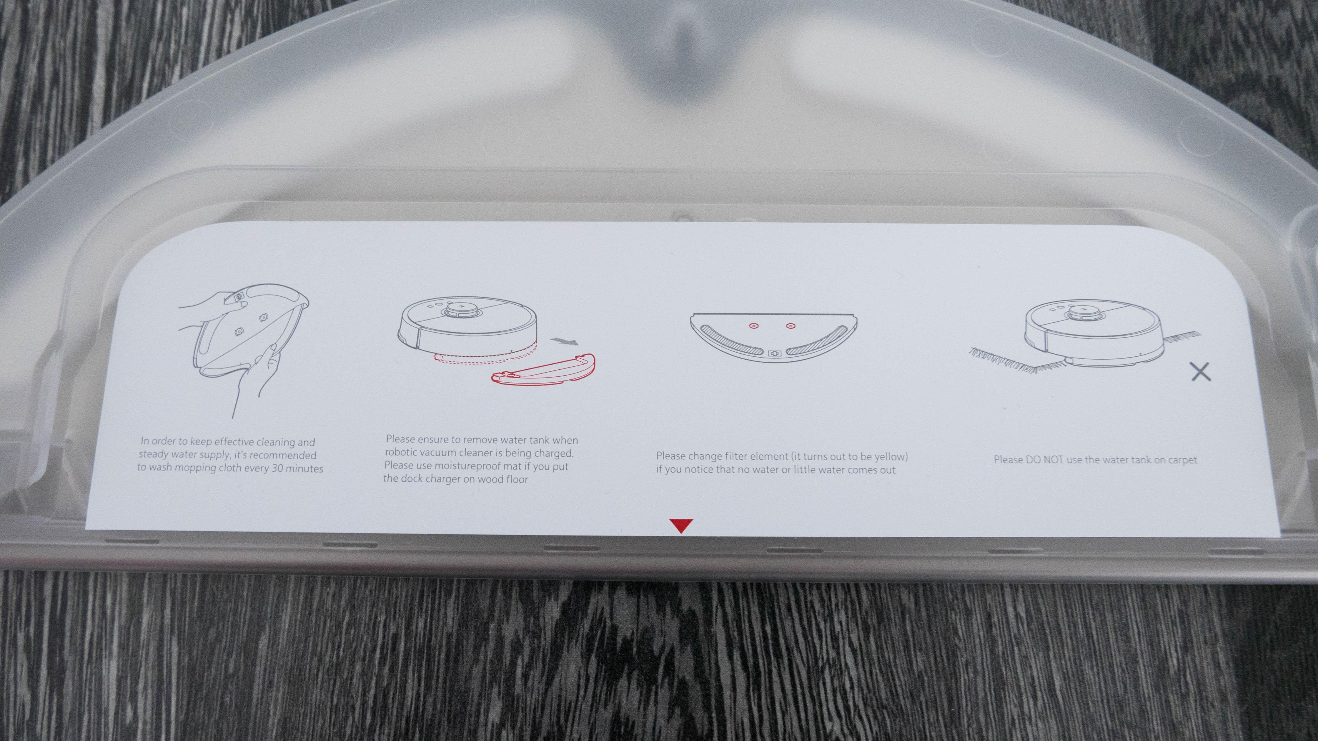 Xiaomi Mi Robot 2 Wassertank 2