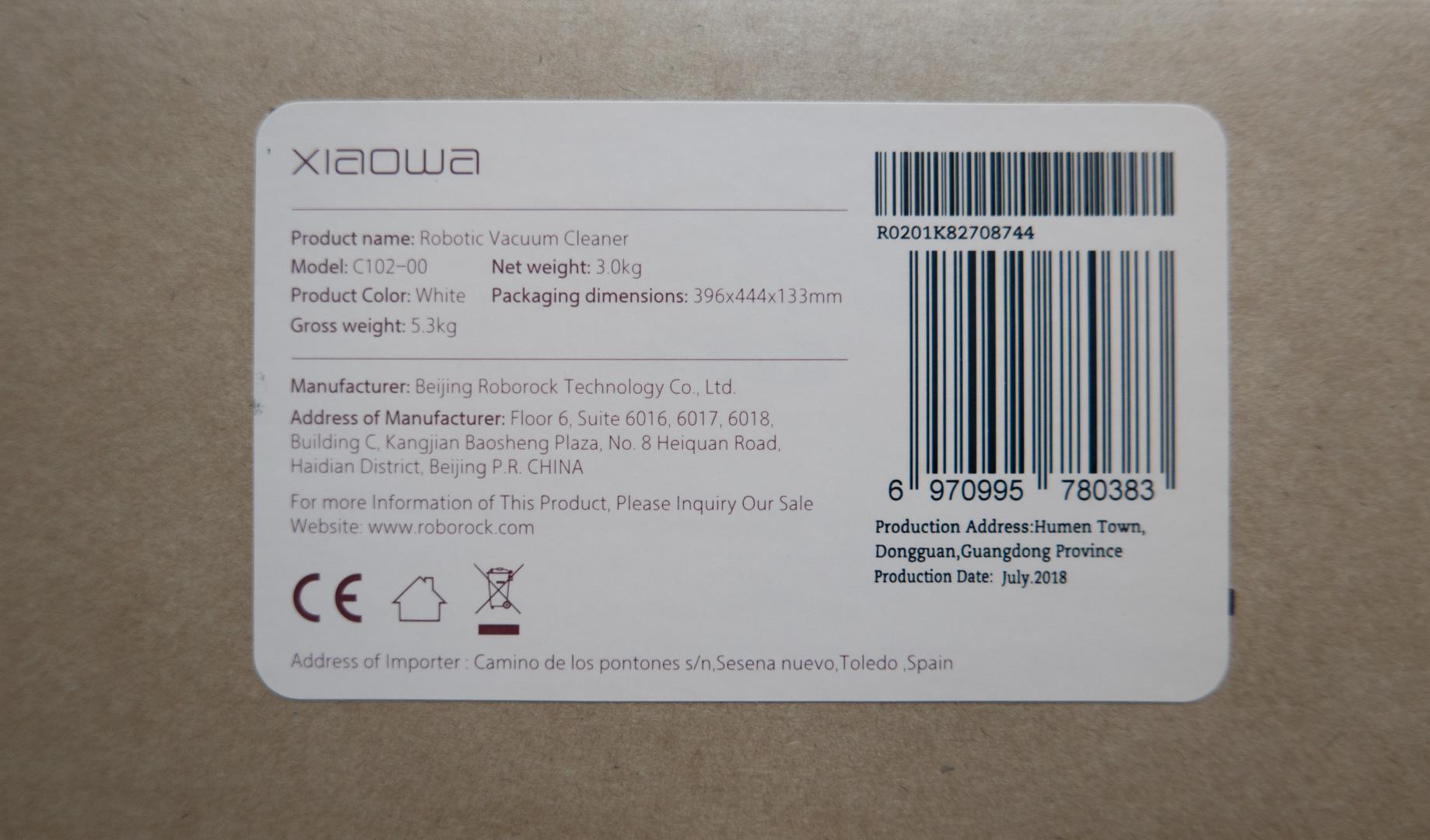 Xiaomi Roborock Xiaowa C10 Unboxing 02