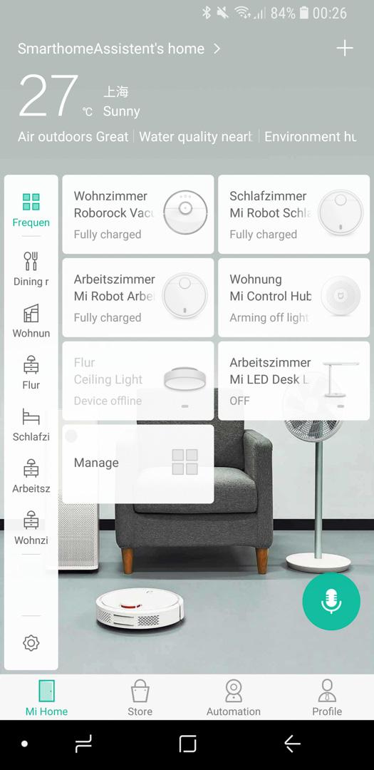 Xiaomi Roidmi App einrichten 01