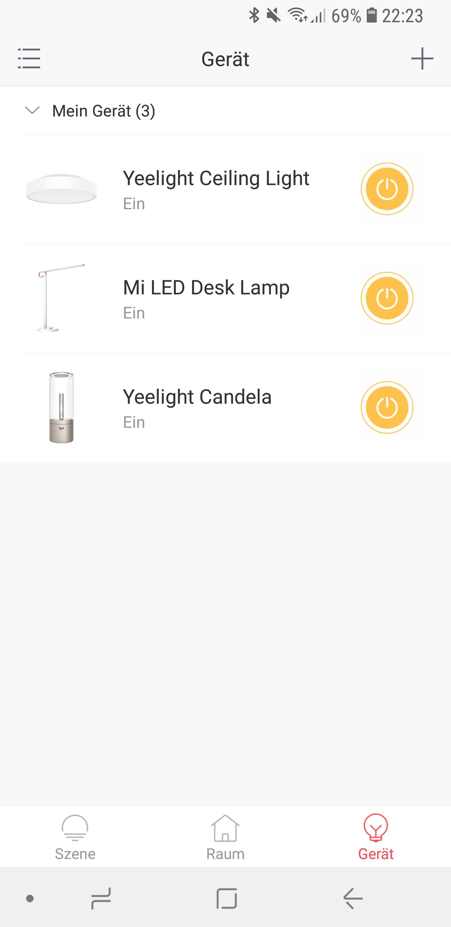 Xiaomi Yeelight Candela App 7