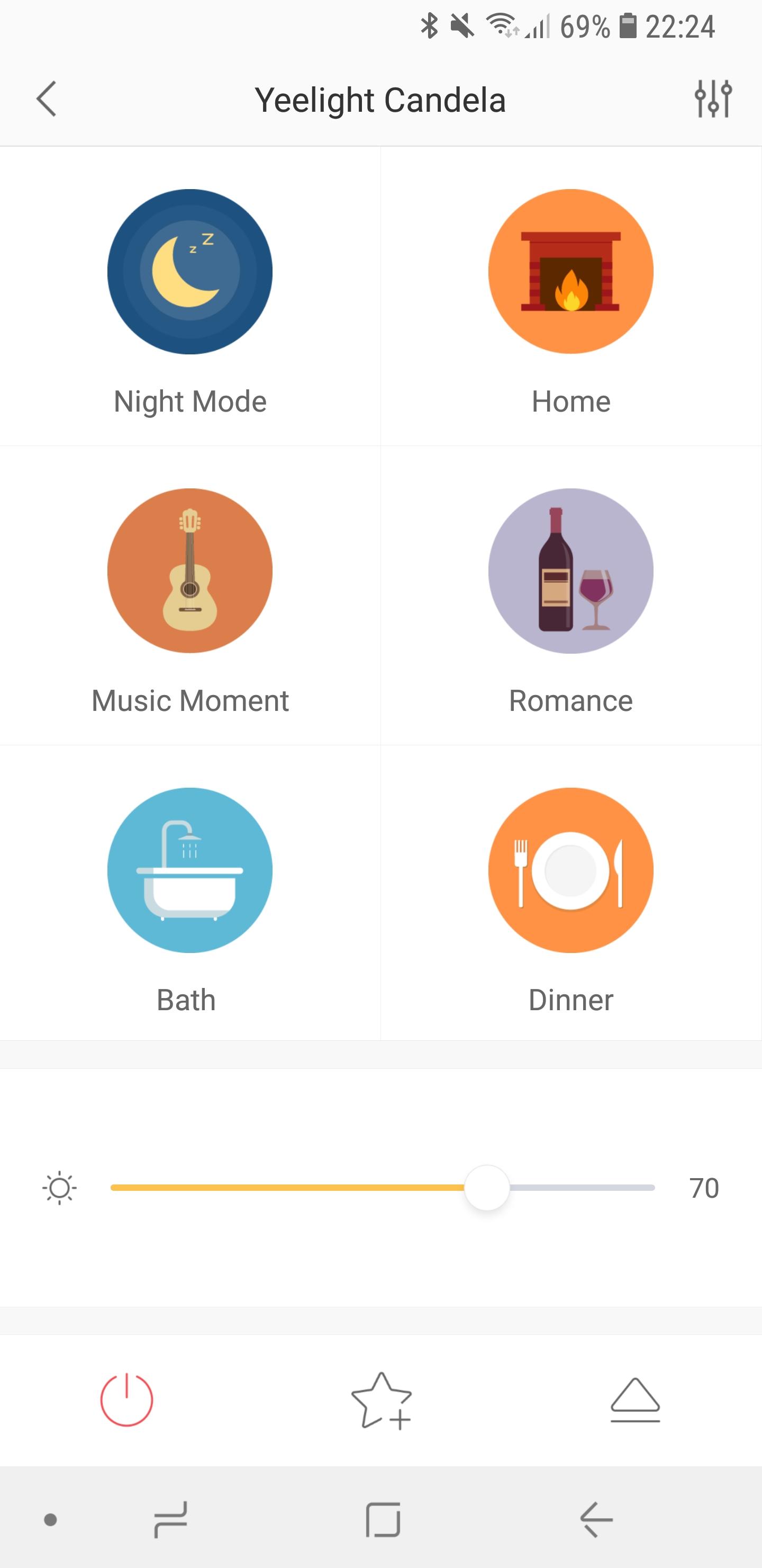 Xiaomi Yeelight Candela App 8