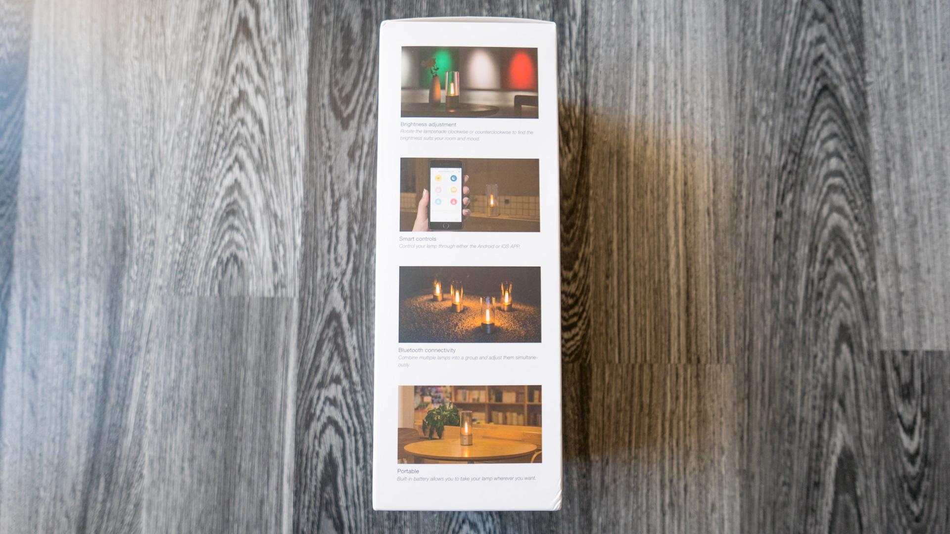 Yeelight Candela Kerzenlicht Detail 3