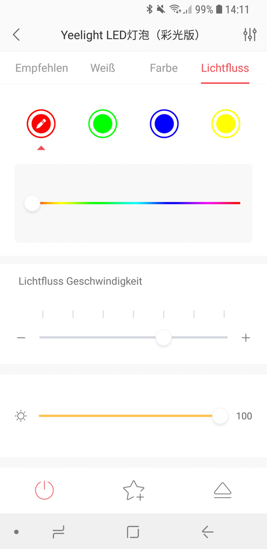 Xiaomi Yeelight Color Bulb App 05