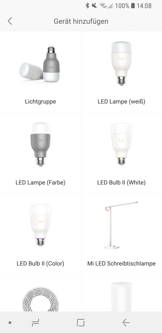 Xiaomi Yeelight Color Bulb einrichten 03