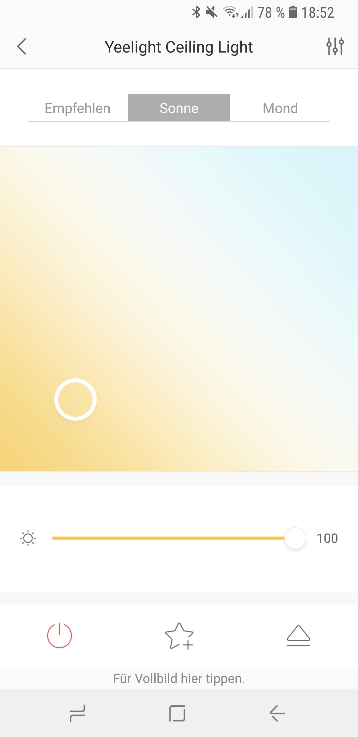 Xiaomi Yeelight LED Ceiling Light Screenshot 11