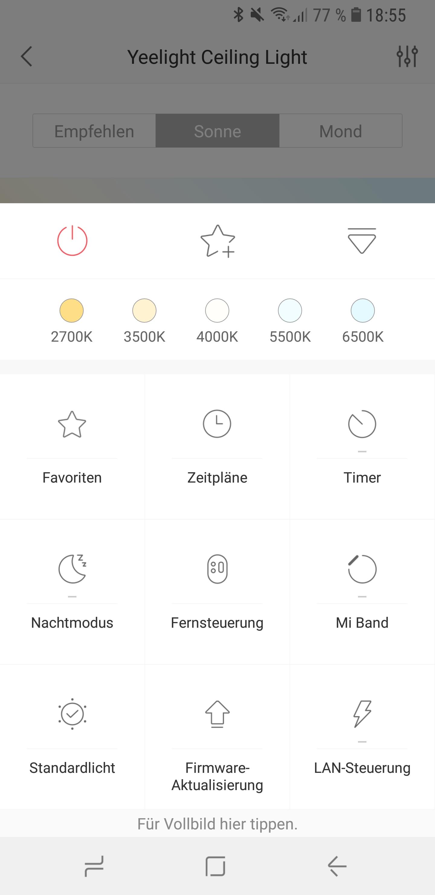 Xiaomi Yeelight LED Ceiling Light Screenshot 15