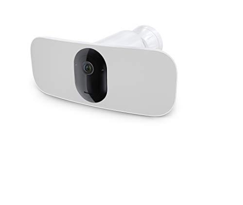Arlo Pro3 Floodlight WLAN Überwachungskamera | Kabellos, 2K UHD,...