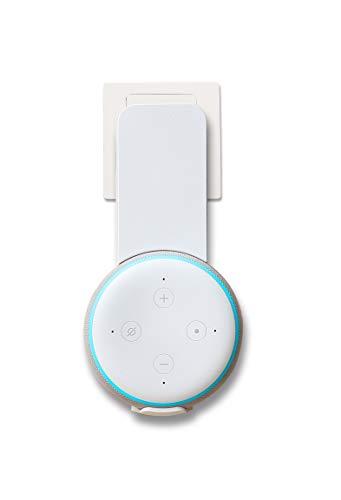 Amazon Basics – Wandhalterung für Echo Dot 3. Generation, Weiß