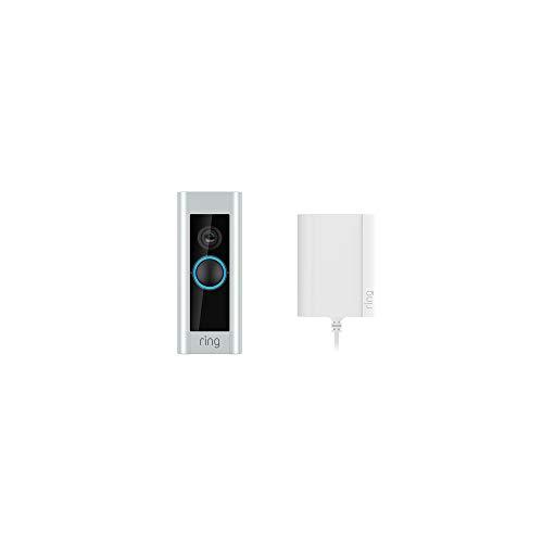 Ring Video Doorbell Pro mit Netzteil von Amazon, 1080p HD-Video,...