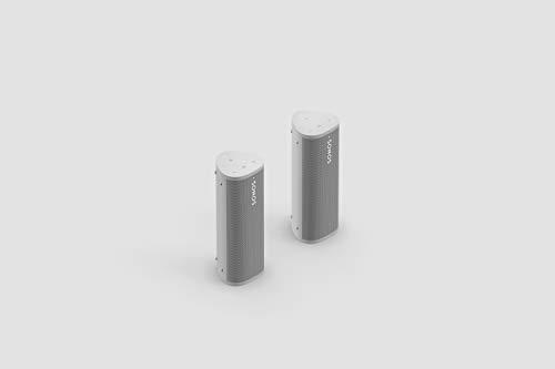 Sonos Roam - 2er Set weiß | Wasserdichter WLAN & Bluetooth...