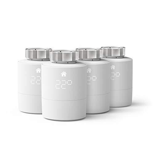 tado° Smartes Heizkörper-Thermostat - Quattro Pack, Zusatzprodukte...