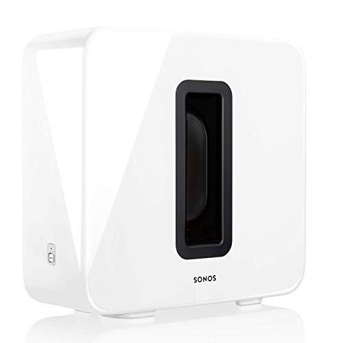Sonos Sub, weiß – Leistungsstarker WLAN Subwoofer für dynamische &...