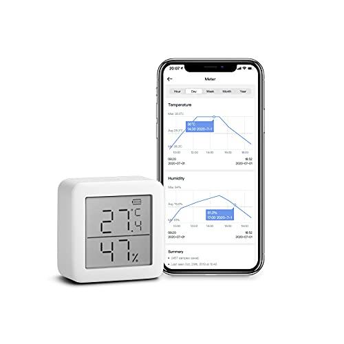 SwitchBot Thermometer Hygrometer Hygrometer Wireless Indoor...