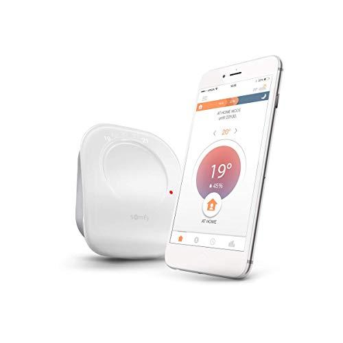Somfy 2401498 - Verdrahteter Thermostat | Funk-Thermostat für Heizung...