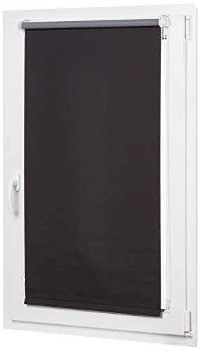 Amazon Basics curtain, Schwarz, 86 x 150 cm