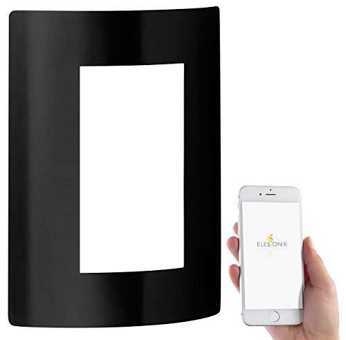 Luminea Home Control LED-Außenleuchte für Alexa & Google Assistant,...