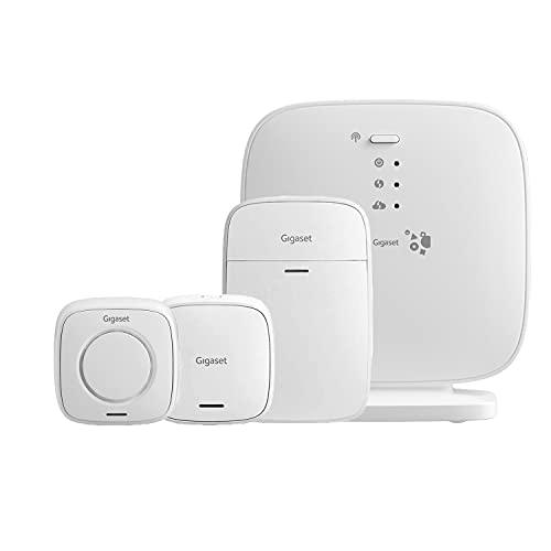 Gigaset Sicherheitssystem - Smart-Home Alarmanlage-Set mit Elements...