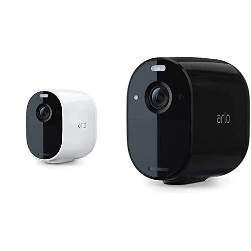 Arlo Essential Spotlight Überwachungskamera schwarz/weiß Bundle -...