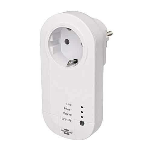 Brennenstuhl Smart & Ferngesteuerte Stecker 1294840, Weiß
