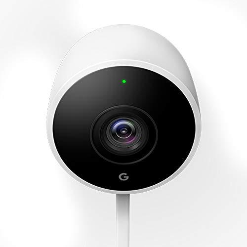 Google Nest Cam Outdoor Überwachungskamera, Weiß. Noch nie sah...