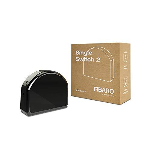 FIBARO FIBEFGS-213 Single Switch 2, Schwarz