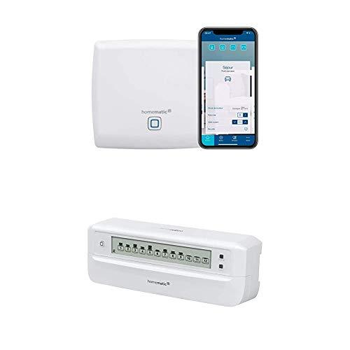 Homematic IP Access Point + Fußbodenheizungsaktor – 12-fach,...