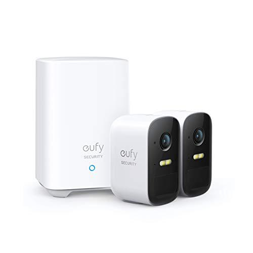 eufy Security eufyCam 2C, kabelloses Sicherheitssystem, 180 Tage...