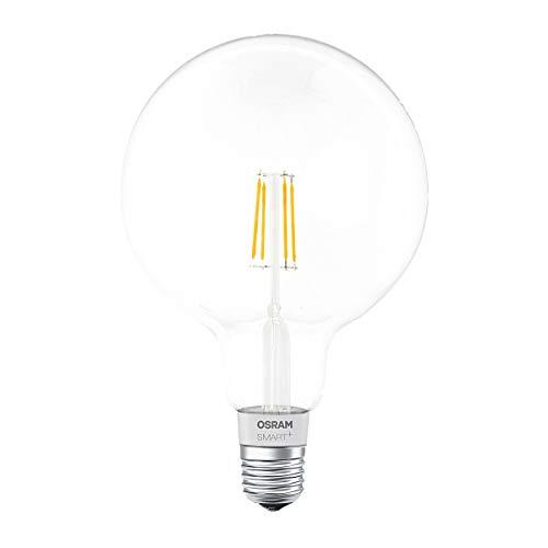 OSRAM SMART+ LED Filament Globe, Bluetooth Lampe mit E27 Sockel,...