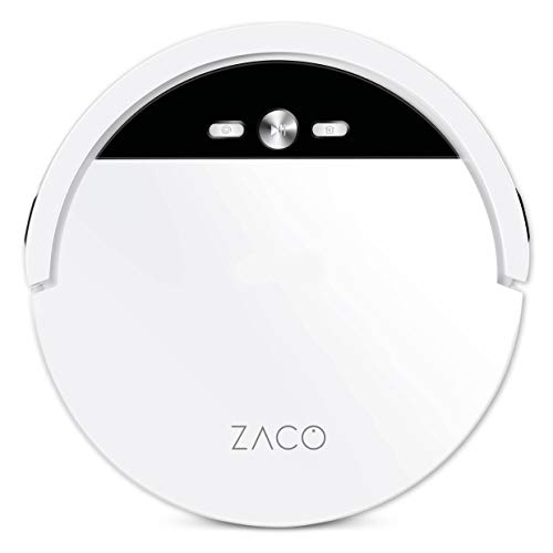 ZACO V4 Saugroboter mit bürstenloser Direktabsaugung, Ideal für...