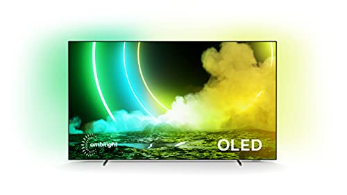 Philips Ambilight TV 65OLED705/12 65-Zoll OLED TV (4K UHD, P5 Perfect...