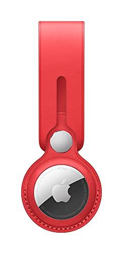 Apple AirTag Anhänger aus Leder - (Product) RED