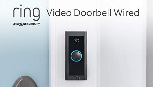Wir stellen vor: Ring Video Doorbell Wired von Amazon – HD-Video...