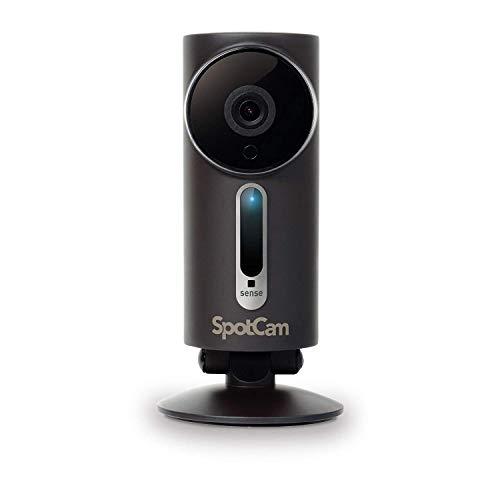 SpotCam Sense Pro 1080P Kabellose Sicherheitskamera für die...