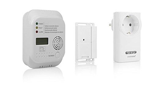 Smartwares Funk-Abluftsteuerung für Dunstabzugshaube + Kohlenmonoxid...