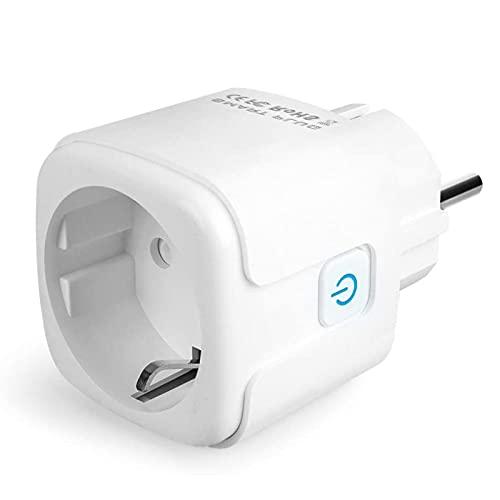 Wifi Smart Steckdose, MEAMOR Intelligente WLAN Steckdose, Kompatibel...