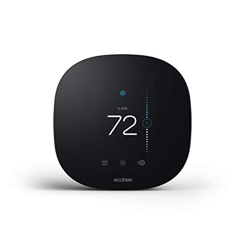 ecobee 3 lite Smart-Thermostat, 2nd Gen, Schwarz