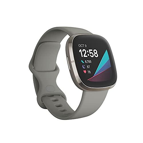 Fitbit Sense - fortschrittliche Gesundheits - Smartwatch mit Tools...