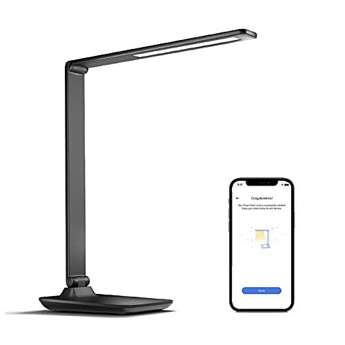 Smart Schreibtischlampe LED funktioniert mit Apple HomeKit, meross...