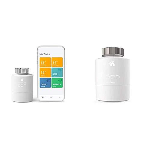 tado° Smartes Heizkörper-Thermostat Starter Kit V3+ - Intelligente...