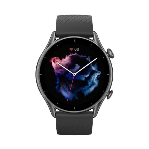 Amazfit Smartwatch GTR 3 mit Gesundheitsüberwachung, 1,39' AMOLED...