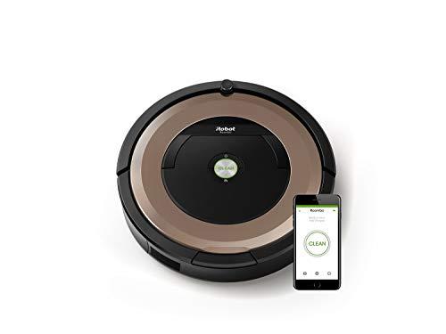 iRobot Roomba 895 Saugroboter mit leistungsstarker Saugeinheit, zwei...