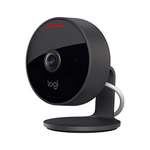 Logitech Circle View - wetterfeste kabelgebundene Überwachungskamera...