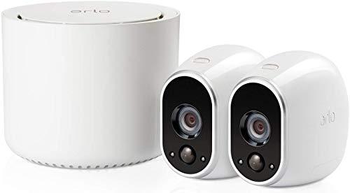 Arlo HD WLAN Überwachungskamera, 2er Set, kabellos, Innen / Aussen,...