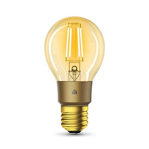 TP-Link KL60 Kasa Smart WLAN Filament Glühbirne, Vintage Bernstein...
