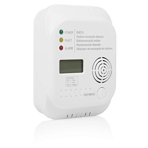 Smartwares 10.029.25 RM370 Kohlenmonoxid Melder mit Display und...