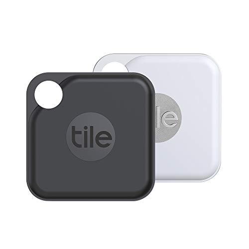 Tile Pro (2020) Bluetooth Schlüsselfinder, 2er Pack, 120m Reichweite,...