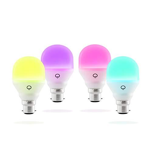 LIFX Mini (B22) smarte WLAN LED-Birne, einstellbar, mehrfarbig,...