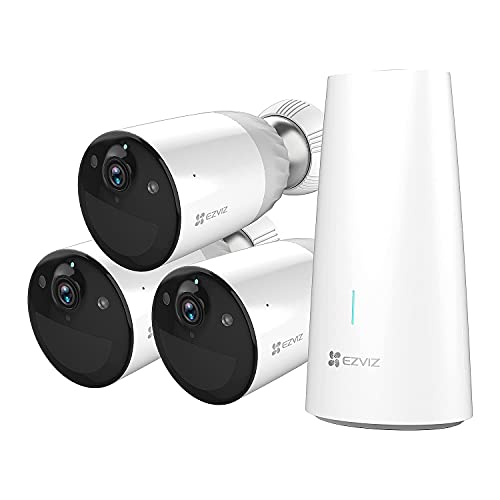 EZVIZ 1080P Akku Überwachungskamera, 365 Tage Akkuleistung, 100%...