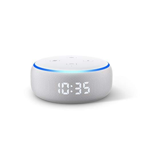 Echo Dot (3.Gen.) – smarter Lautsprecher mit Uhr und Alexa,...